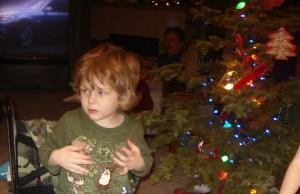 Kiernan, age 3