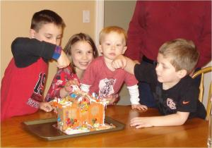 Breaking the Gingerbread House
