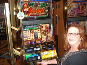Little Red Riding Hood Penny Slots - played in honor of my friend Gina.