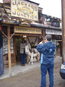 We were led to check out Jackass Junction, the local bar and grill.
