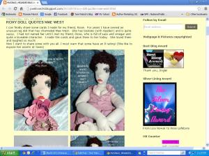 Roxy Doll Cards by Rose