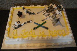 A Jedi is Born Cake