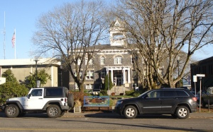 Cropped town hall