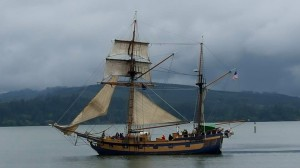 Tall Ship in Coos Bay
