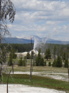 Great Fountain Geyser is also taking over the surrounding safe zones.