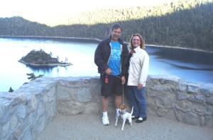 Us at Tahoe